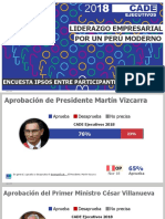 Encuesta IPSOS Cade Ejecutivos 2018