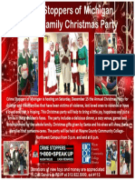 Crime Stoppers Annual Christmas Party
