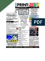 October 17 2010 Newsletter
