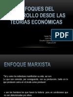 Enfoques Del Desarrollo Desde Las Teorías Económicas
