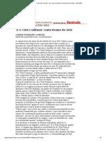 Folha de S.paulo - 'E a Vida Continua' Conta Drama Da Aids - 14-7-1994