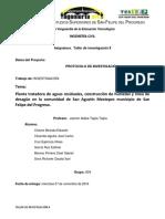 Protocolo de Investigacion (Humedal y Drenaje Sanitario)