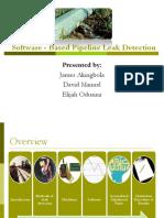 Software Based Leak Detection Presentation