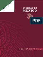 Imagen institucional de Gobierno de México AMLO