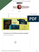 Administração Pública e Lei Da Desburocratização 13.726-2018
