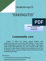 Studi Kasus Faringitis Pada Anak