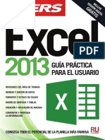 Excel 2013, Guia Práctica Del Usuario