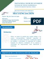 Modelos de IO - Secuenciacion EXPO