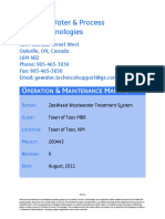 200443 Doc Pkg Vol II – O&M Manual (Rev 0)