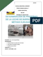 Determinacion de Porteina (Leche de Burro)