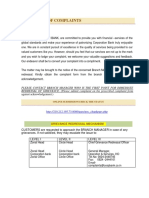 Complaint Escalation Matrix 20.08.2015
