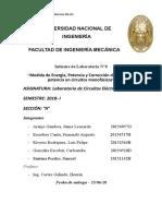 CORRECCION DE POTENCIA ELECTRICA