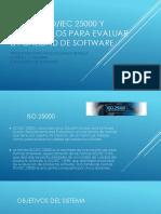 Norma Iso Iec 25000 - Modelos Para Evaluar La Calidad de Software