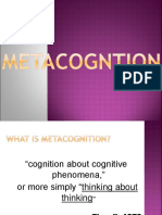 metacognition ppt