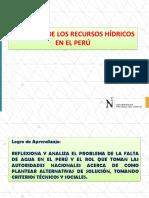 Situacion de Recursos Hidricos en Peru