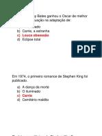 Quiz Stephen King
