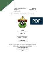 Referat IMD Dan Manajemen Laktasi 2018
