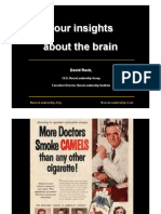 Four Insights About the Brain 2012