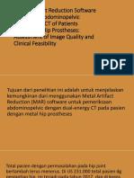Kelompok 2 -Metal Artifact Reduction Software.pptx