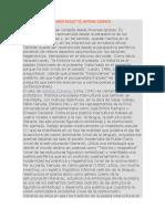 Lectura de Comentarios Reales de Antonio Cisneros