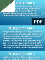 Pelikula at Dula