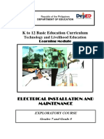 Electrical Learning Module