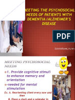 Meeting the Psychosocial needs of patients with dementia.pptx