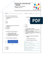 Evaluacion de Geometria III Jhl