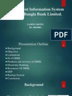 Management Information System of Dutch-Bangla Bank Limited