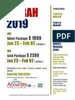 Umrah 2019 Flyer 4