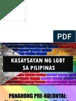 Kasaysayan Ng LGBT
