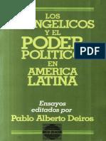 253 - Pablo A Deiros LOS EVANGELICOS Y EL PODER POLITICO EN AM LAT x eltropical.pdf