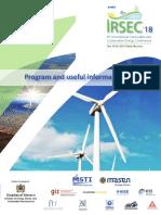 Irsec program 2018