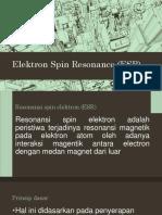 Kel 8 Resonansi Spin Elektron