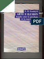 Gombrich, Arte e Ilusión