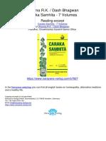 Caraka Samhita 7 Volume Vaidya Bhagwan Dash R K Sharma.07927 6Contents Volume 6