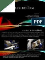 Balanceo DE Lineas POWERPOINT_2018