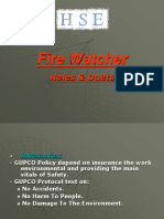 Fire Watcher Presentation