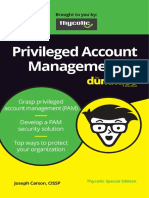 Privileged Account Managment for Dummies Wiley and Thycotic