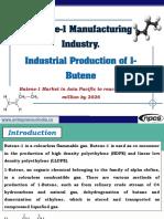 Butene-1 Manufacturing Industry