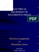 Electrical Equipment in Hazardous Areas