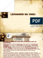 Leonardo Da Vinci, two stories