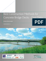 CBDG TG 14 - Best Construction Methods for Concrete Bridge Decks - Cost Data