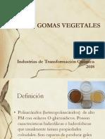 GOMAS VEGETALES 2018