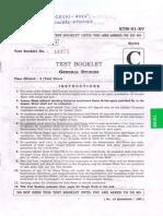 General Studies question paper