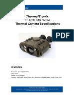 ThermalTronix TT 1750HMS NVBM Datasheet