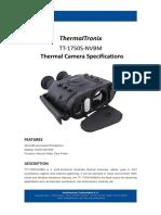 ThermalTronix TT 1750S NVBM Datasheet