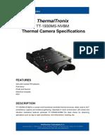 ThermalTronix TT 1930MS NVBM Datasheet