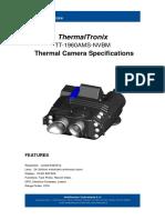 ThermalTronix TT 1960AMS NVBM Datasheet