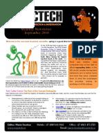 Exactech Fraud Risk Management Newsletter Sept 2018